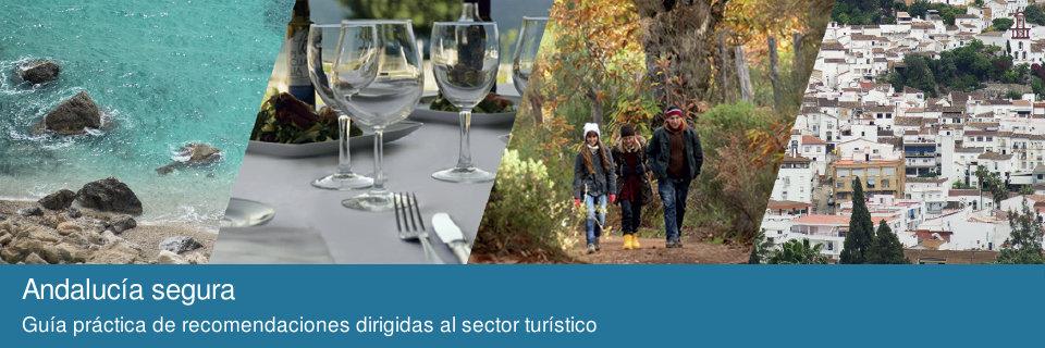 Andalucía segura. Guía práctica de recomendaciones dirigidas al sector turístico