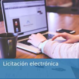 Licitación electrónica