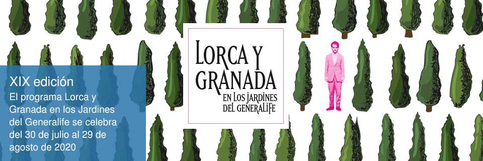 Lorca y Granada en los Jardines del Generalife