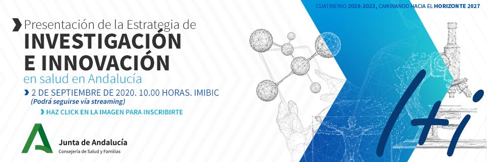 Presentación de la Estrategia de Investigación e Innovación en Salud en Andalucía