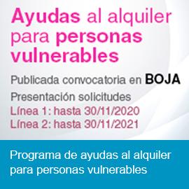 Ayudas a víctimas de violencia de género y personas vulnerables