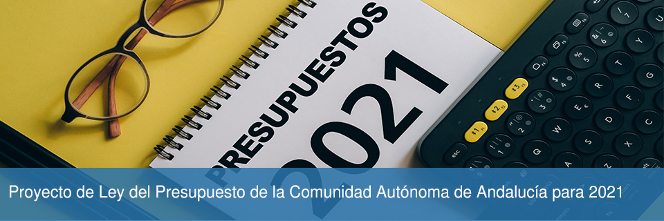 Proyecto de Ley del Presupuesto de la Comunidad Autónoma de Andalucía para 2021