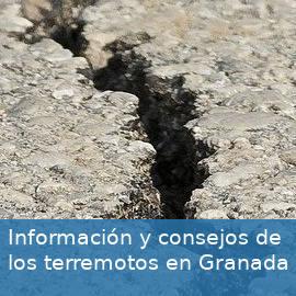 Información y consejos sobre los terremotos en la Vega de Granada