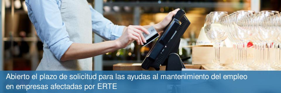 Abierto el plazo de solicitud para las ayudas al mantenimiento del empleo en empresas afectadas por ERTE