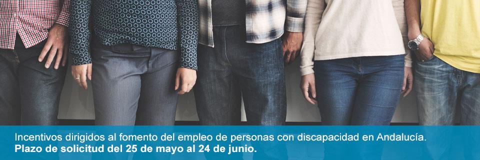 Nueva convocatoria de ayudas para el fomento del empleo de personas con discapacidad