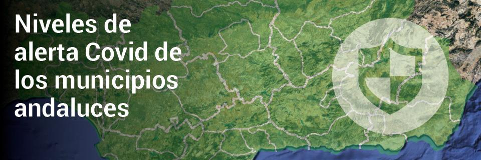 Niveles de alerta Covid de los municipios andaluces