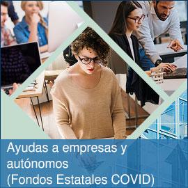 Ayudas a empresas y autónomos (Fondos estatales COVID)