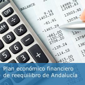 Plan económico financiero de reequilibro de Andalucía