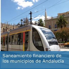 Saneamiento financiero de los municipios de Andalucía