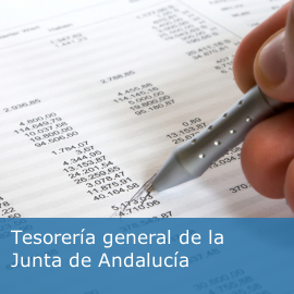 Tesorería general de la Junta de Andalucía