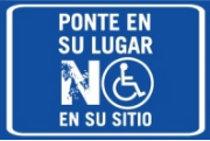 Tarjeta aparcamiento