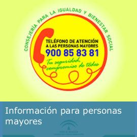 Información para personas mayores