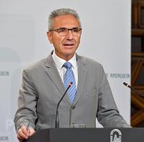 Miguel Ángel Vázquez, portavoz del Gobierno de la Junta.