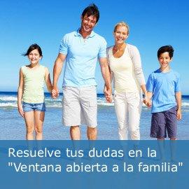 "Resuelve tus dudas en la ""Ventana abierta a la familia"""
