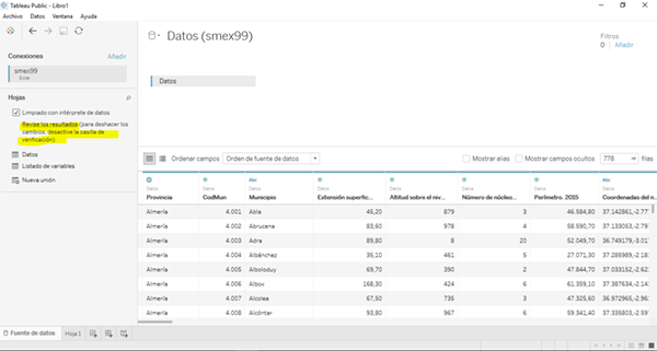 Tableau_verificar interprete de datos