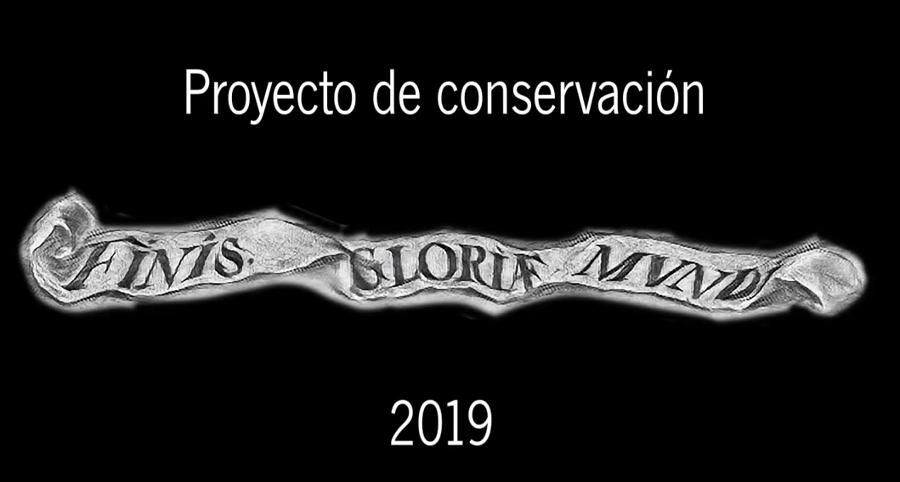 Intervención en el lienzo Finis Gloriae Mundi de Valdés Leal
