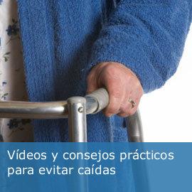 Vídeos y consejos prácticos para evitar caídas