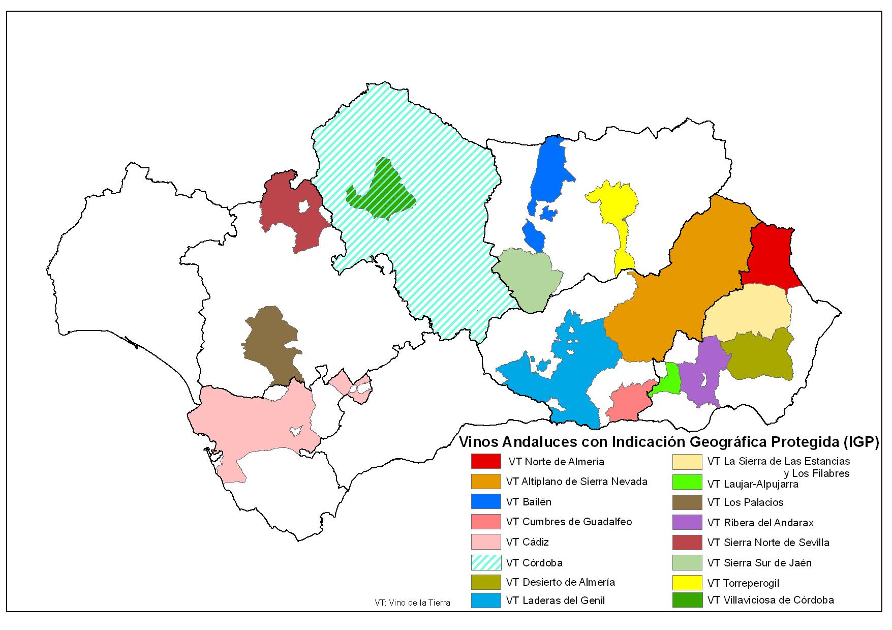 Junta De Andalucía Vinos Con Indicación Geográfica Protegida