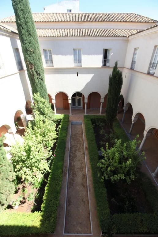 Patio interior Palacio de Altamira