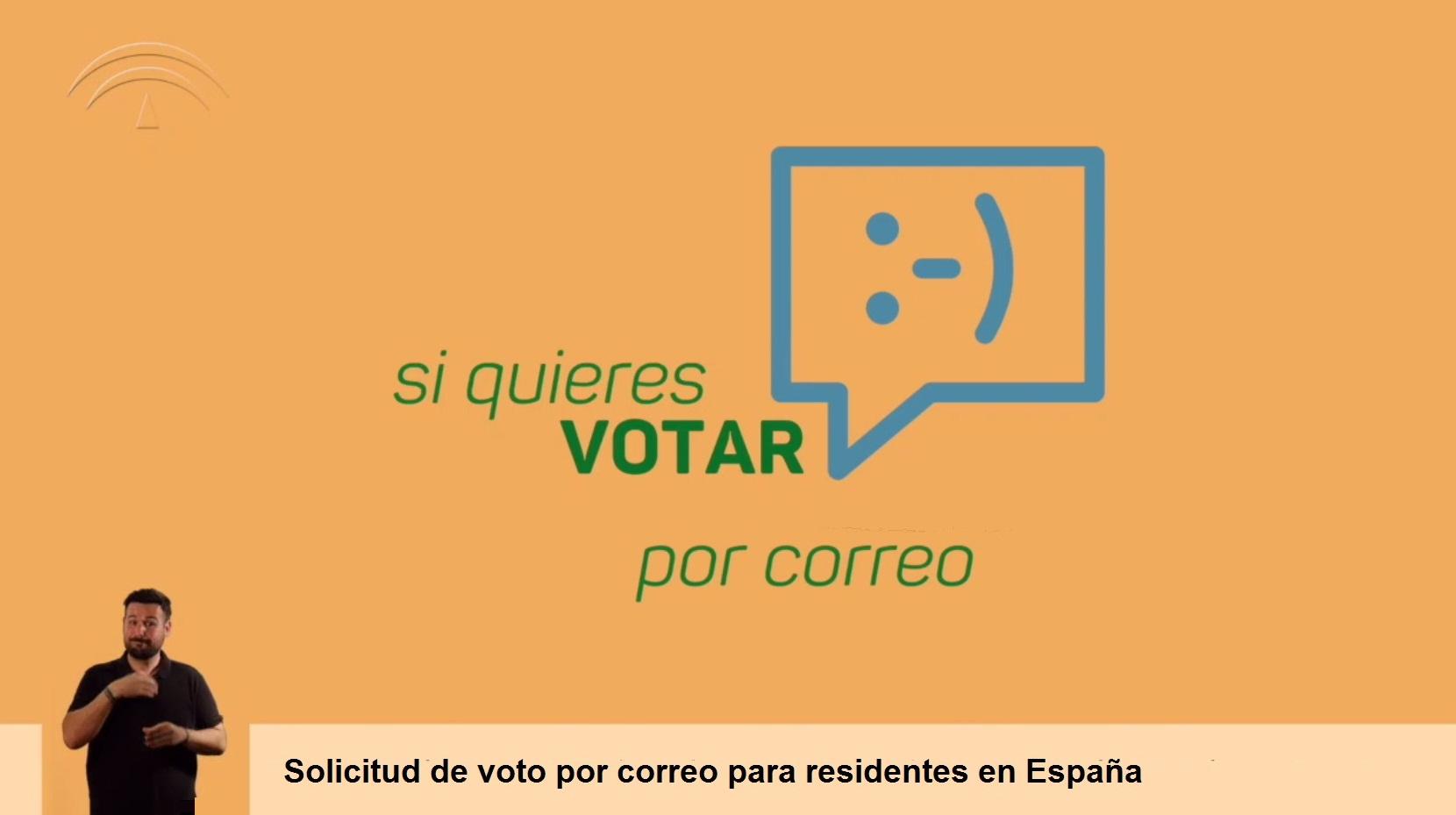voto por correo desde España