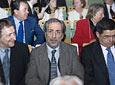 El periodista Francisco Lobatón, junto al Defensor del Pueblo Andaluz, José Chamizo.