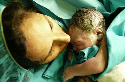 Primer 'bebé medicamento'
