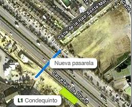 Plano de la estación de Condequinto