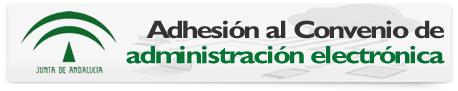 Adhesión al convenio de administración electrónica