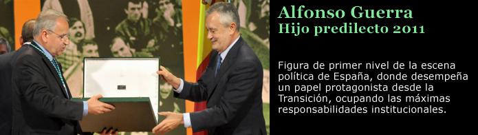 Imagen del político Alfonso Guerra
