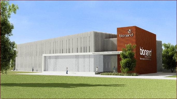 Edificio del Centro Andaluz de Nanomedicina y Biotecnología