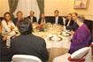 50:Una cena con representantes del mundo de la cultura andaluza puso el broche final a los actos previstos en la visita de S.A.R. el Pr�ncipe de Asturias a Granada.