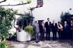 53:En el patio de la casa museo de Lorca degustaron la tradicional limonada.