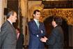 68:Visita del Pr�ncipe de Asturias al Ayuntamiento de Antquera (M�laga), junto al presidente de la Junta y el alcalde de la localidad.