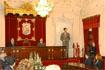 53:En el Ayuntamiento de M�laga, el Pr�ncipe de Asturias poco antes de comenzar su discurso.
