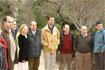 92:S.A.R. el Pr�ncipe Felipe, con representantes de asociaciones medioambientales, en el Parque del Pinsapar.