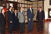 97:El Pr�ncipe visit� el Ayuntamiento de �beda acompa�ado por el Presidente de la Junta y autoridades regionales y municipales.