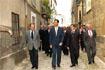 101:El Pr�ncipe de Asturias recorri� el casco antiguo de �beda (Ja�n) en compa��a de autoridades regionales y municipales.