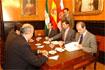 117:Reuni�n con los portavoces municipales del Ayuntamiento de Almer�a.