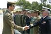105:Saludo a miembros de los tres ej�rcitos y la Guardia civil en Viator (Almer�a).