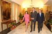 122:El Pr�ncipe de Asturias, acompa�ado por el presidente del Gobierno andaluz, Manuel Chaves, y la alcaldesa de la ciudad, Rosa Aguilar, a su llegada al Ayuntamiento.