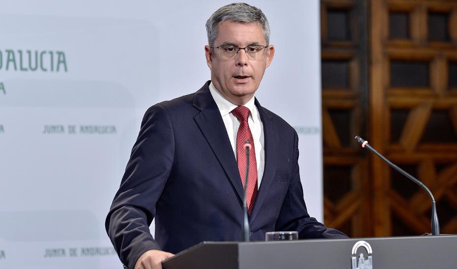 El Portavoz del Gobierno, Juan Carlos Blanco.