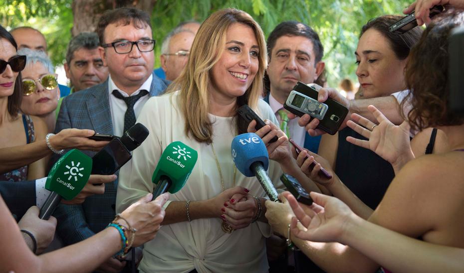 Susana Díaz ha anunciado que el Consejo de Gobierno del próximo martes aprobará el modelo de gobernanza de la Inversión Territorial Integrada (ITI) de Jaén.