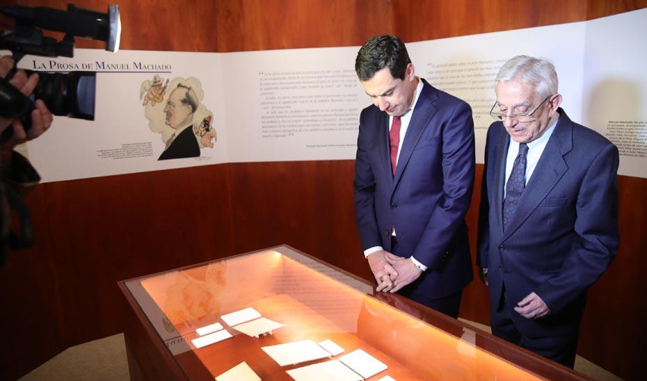 Inauguración de la exposición 'Los Machado vuelven a Sevilla'.