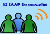 El IAAP te escucha. Se abre en una ventana nueva