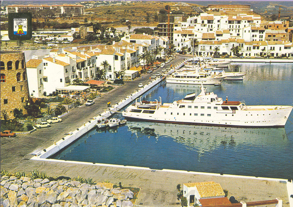 Resultado de imagen de puerto banus 1960 y hoy