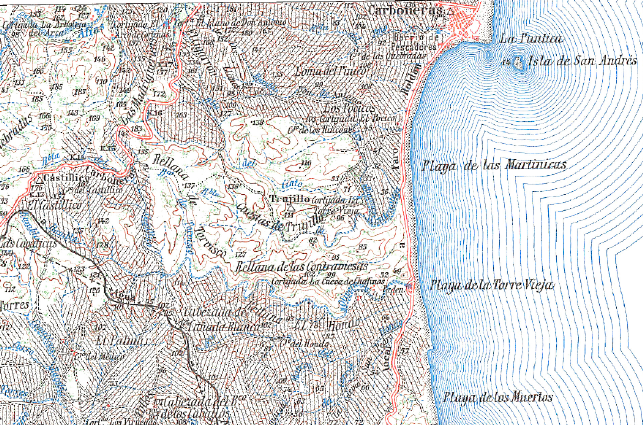 Mapa Topográfico Nacional. Hoja nº 1046. Escala 1:50.000 (1956)