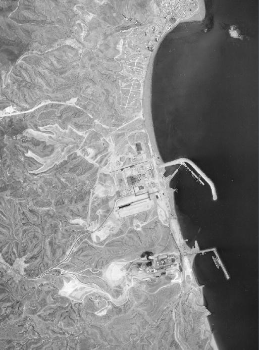 Fotograma del  Vuelo  del Litoral de FOYCAR, septiembre 1984. Propiedad del IECA