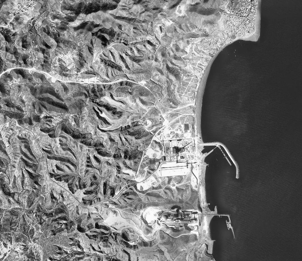 Ortofotografía del  Vuelo del Instituto Geográfico Nacional, 1984