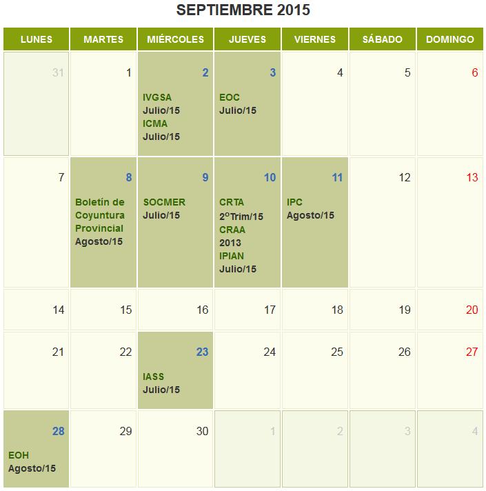 Septiembre 2015