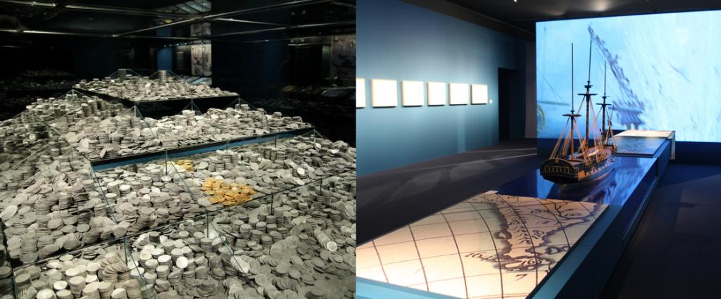 """Exposición """"El último viaje de la fragata Mercedes: un tesoro cultural recuperado"""" visitable en Sevilla en el Archivo de Indias hasta mayo de 2016"""